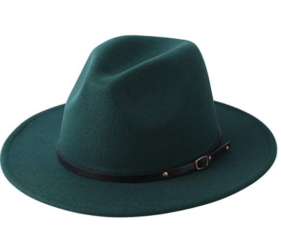olive green hat
